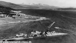 Scrapping of the Tirpitz (1948-1957)