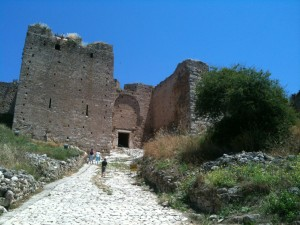 Akrokorinthos - the 12th century Frankish Fort